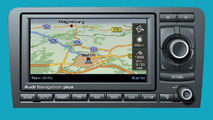 Audi Navigation Plus unit