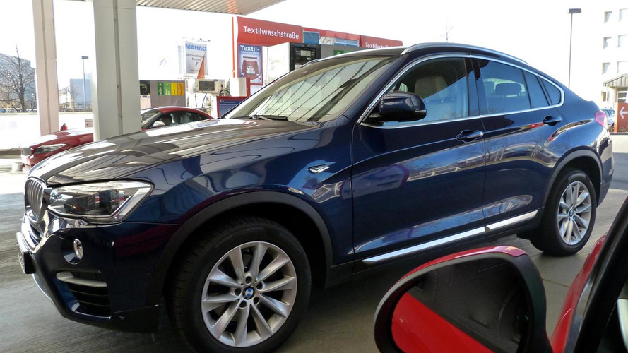 2015 BMW X4 spotted in the metal in Germany