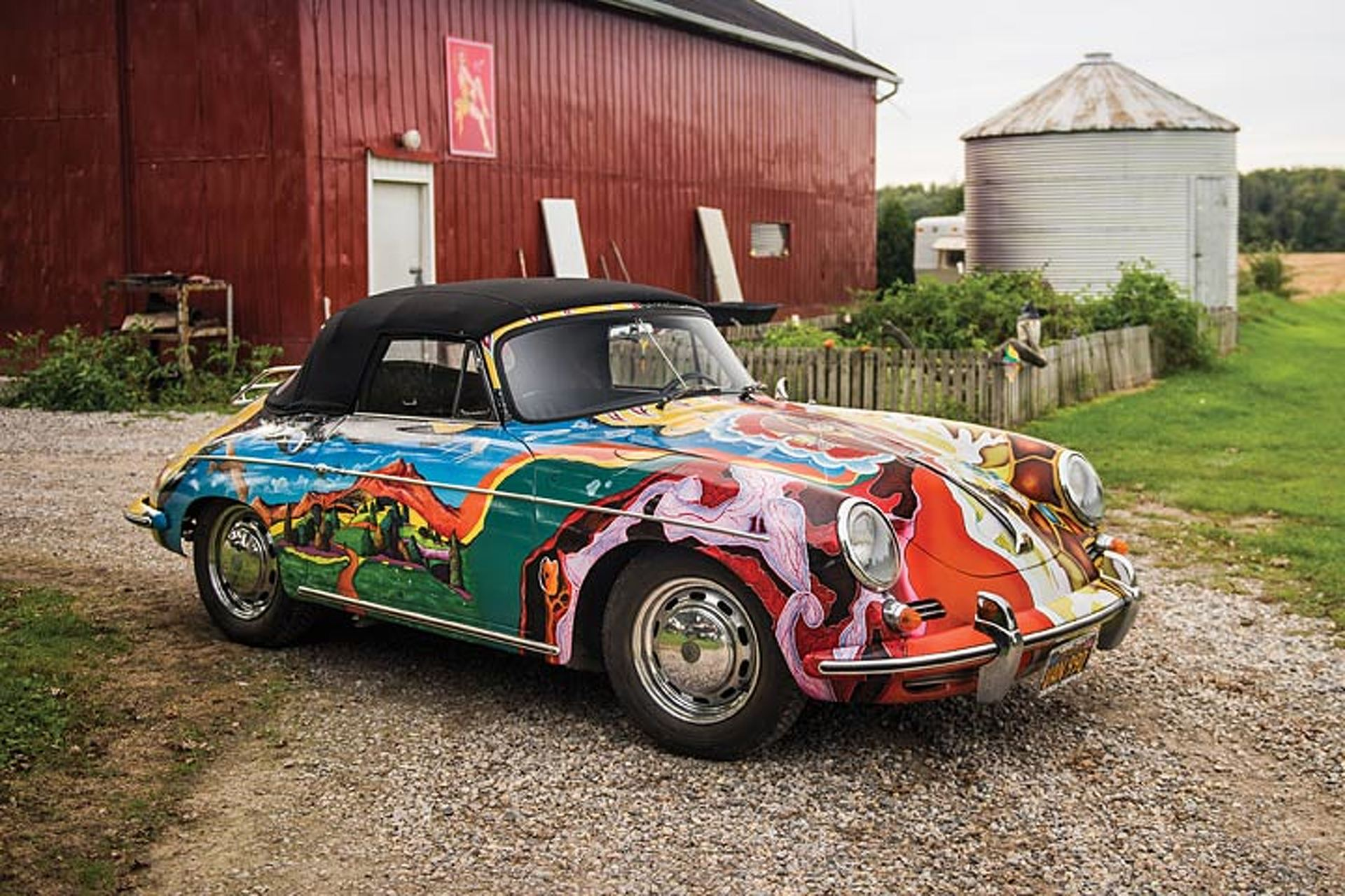 Janis Joplin Porsche Sells for $1.7 Million, Sets Record
