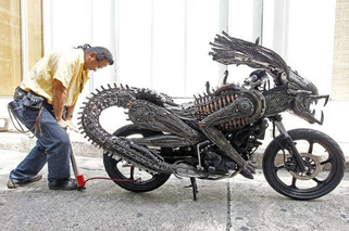 Five of the Strangest Homemade Rides