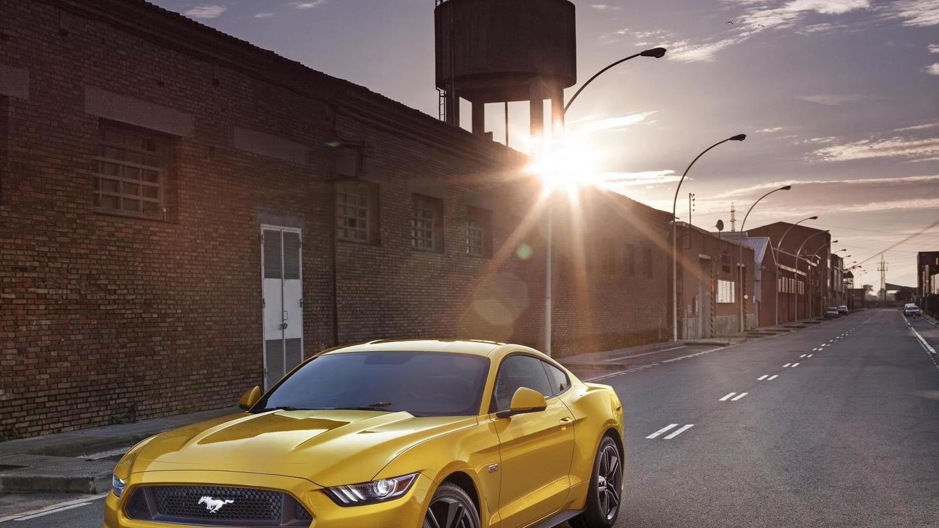 Half a million customers configured their EU-spec Ford Mustangs online in only a month