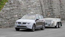 Possible Skoda Yeti test mule spy photos