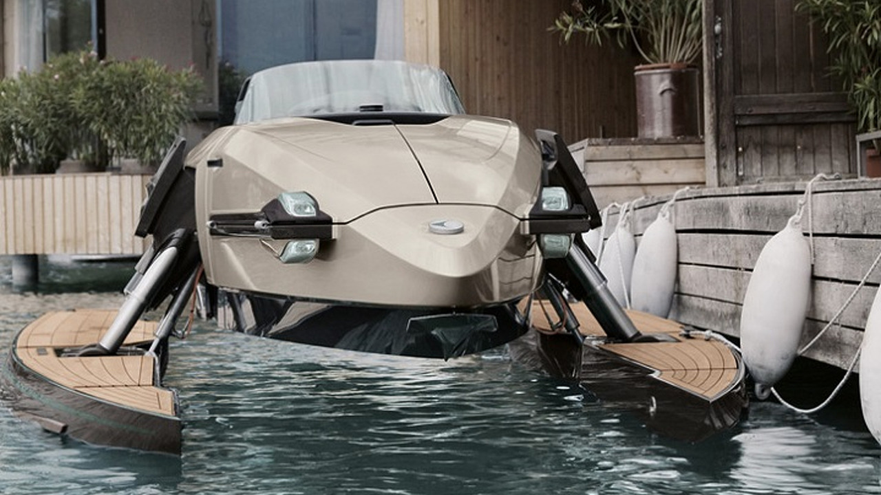 The Kormaran Boat is Like Your Own Personal Transformer For the Sea