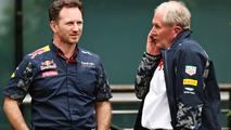 Christian Horner, Red Bull Racing Team Principal and Dr Helmut Marko, Red Bull Racing Team Consultant