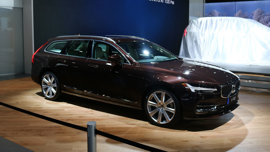 Volvo V90 starts at $49,950 in U.S., configure your own