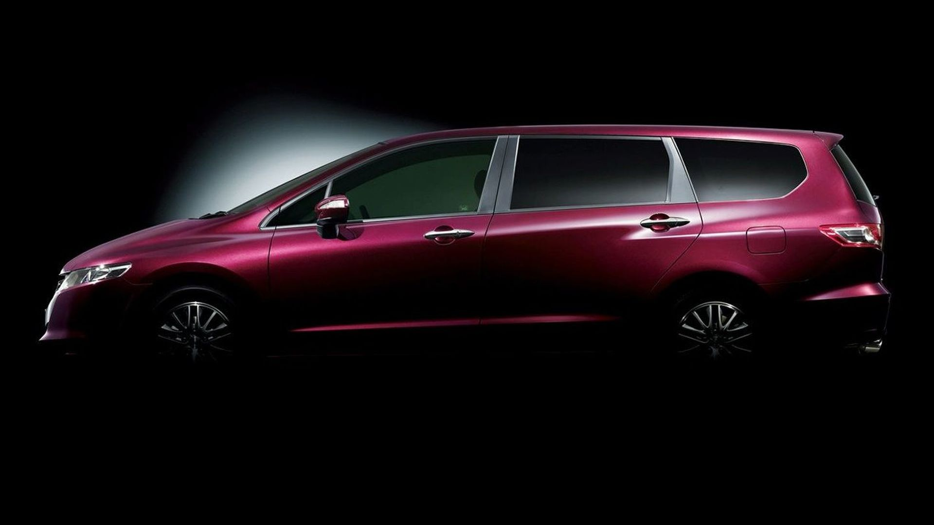 New Fourth Generation Honda Odyssey Teaser