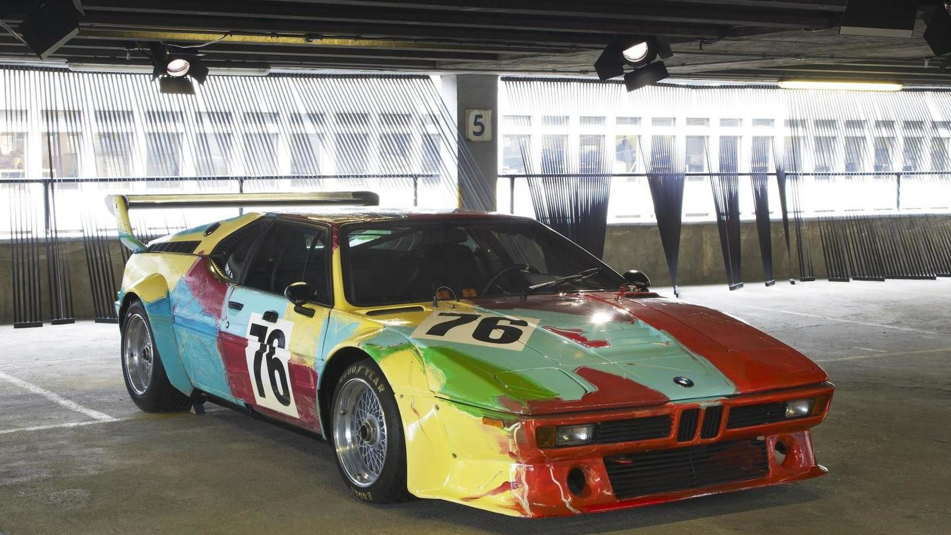 BMW and Paris Photo celebrate anniversary with 1979 Art Car and 6-Series GranCoupe burlesque photos