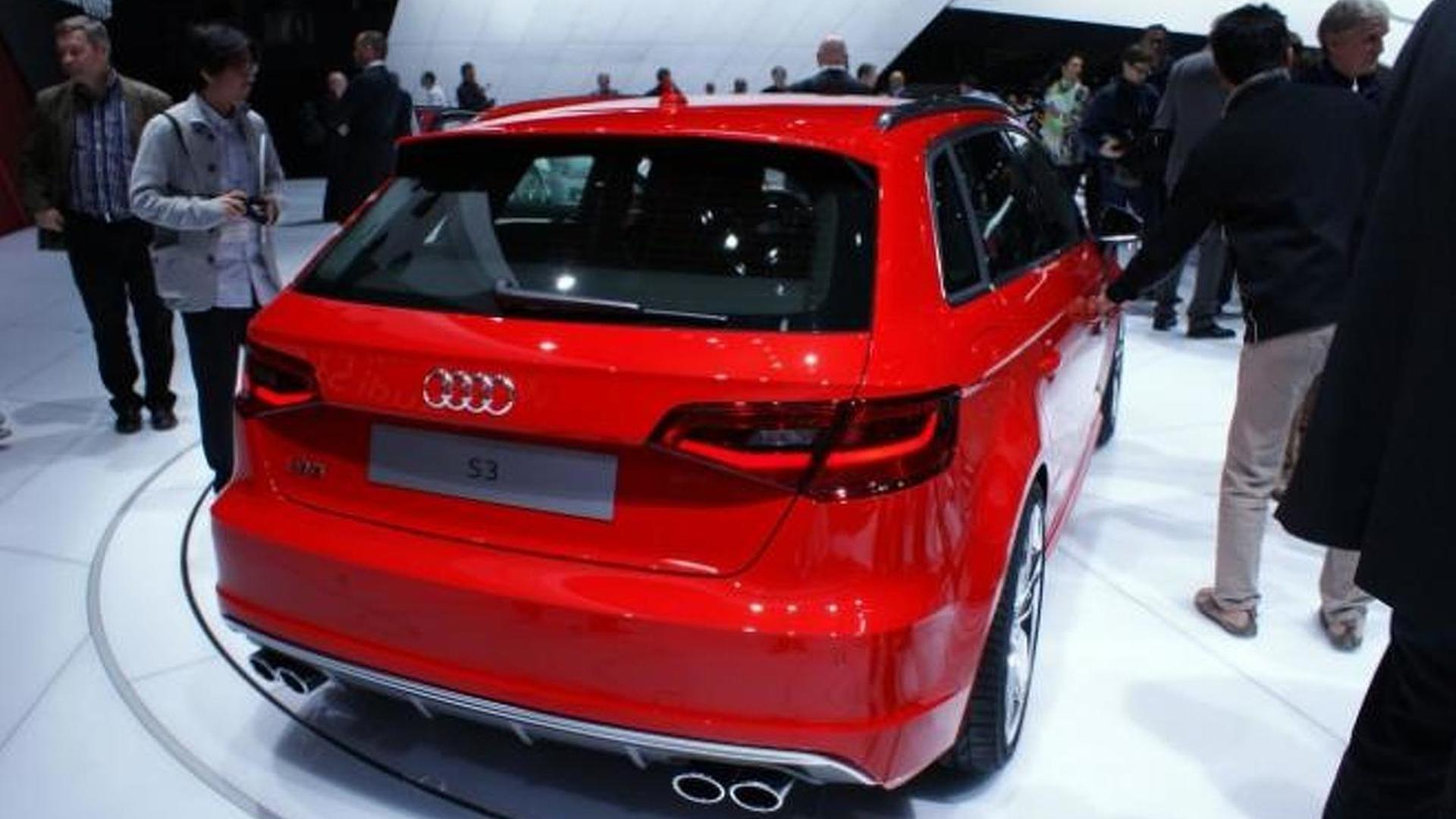 2013 Audi S3 Sportback showcased in Geneva