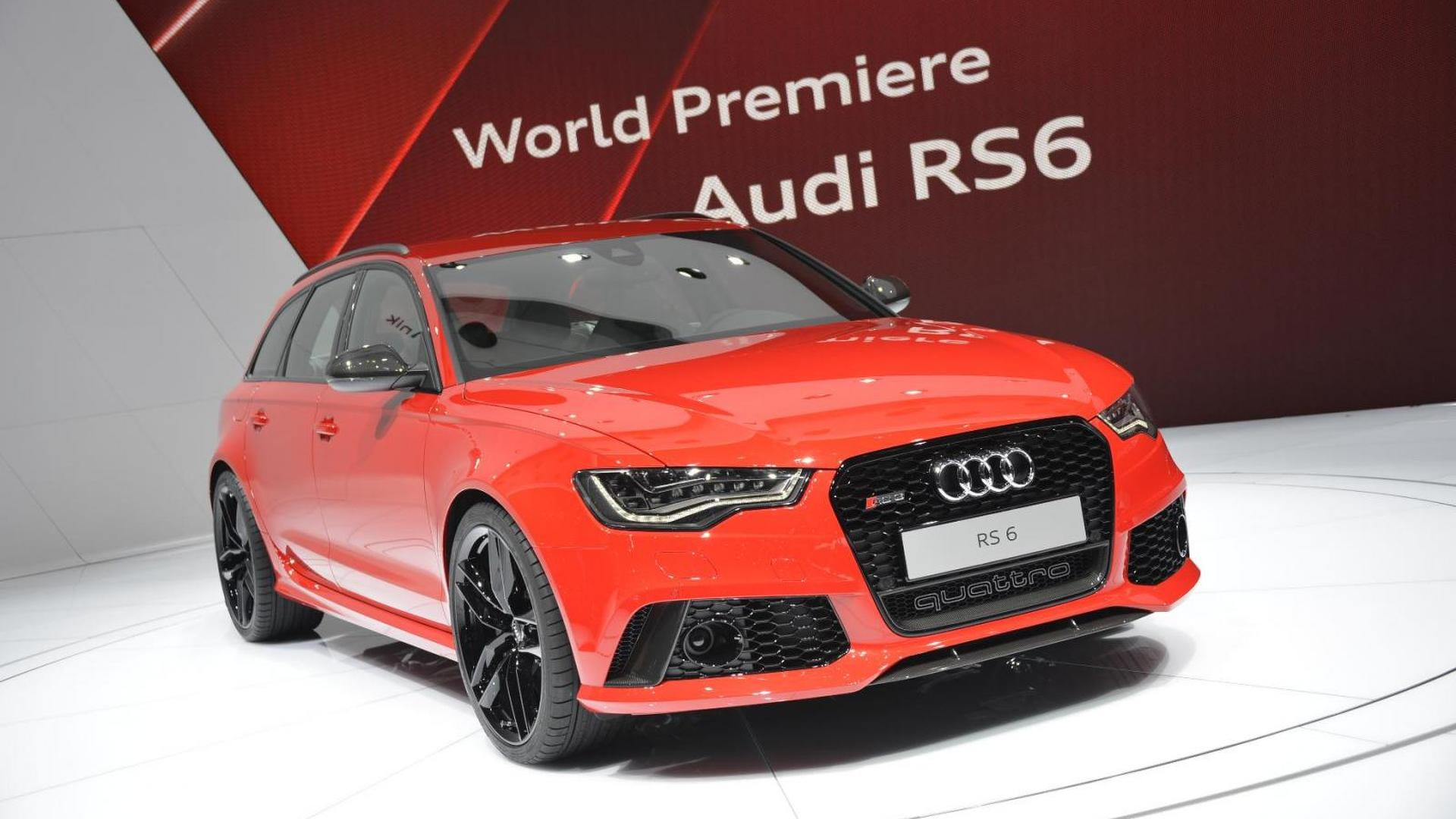 2014 Audi RS6 Avant shines in Geneva