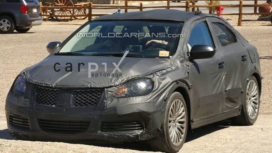 Suzuki Kizashi Prototype Caught Out in the Open