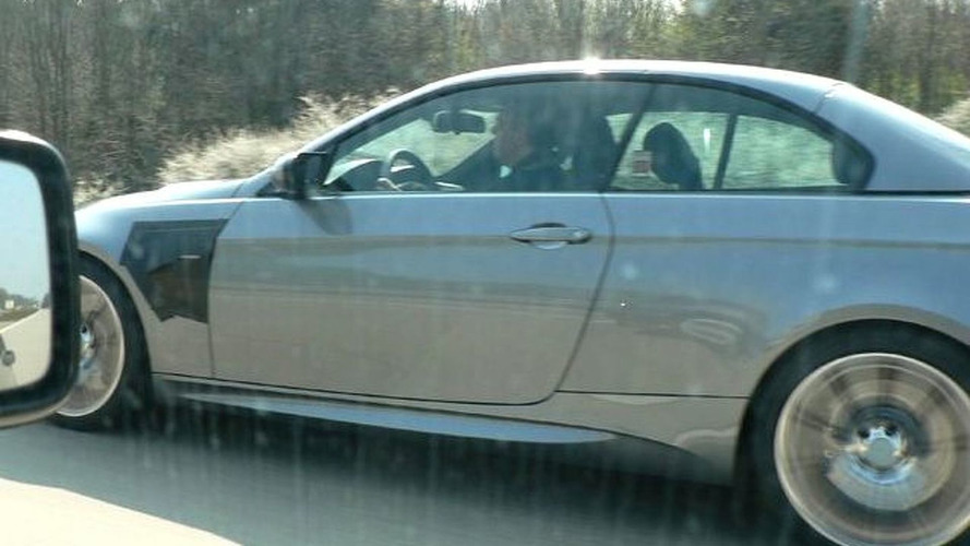 BMW M3 Convertible Latest Spy Pics