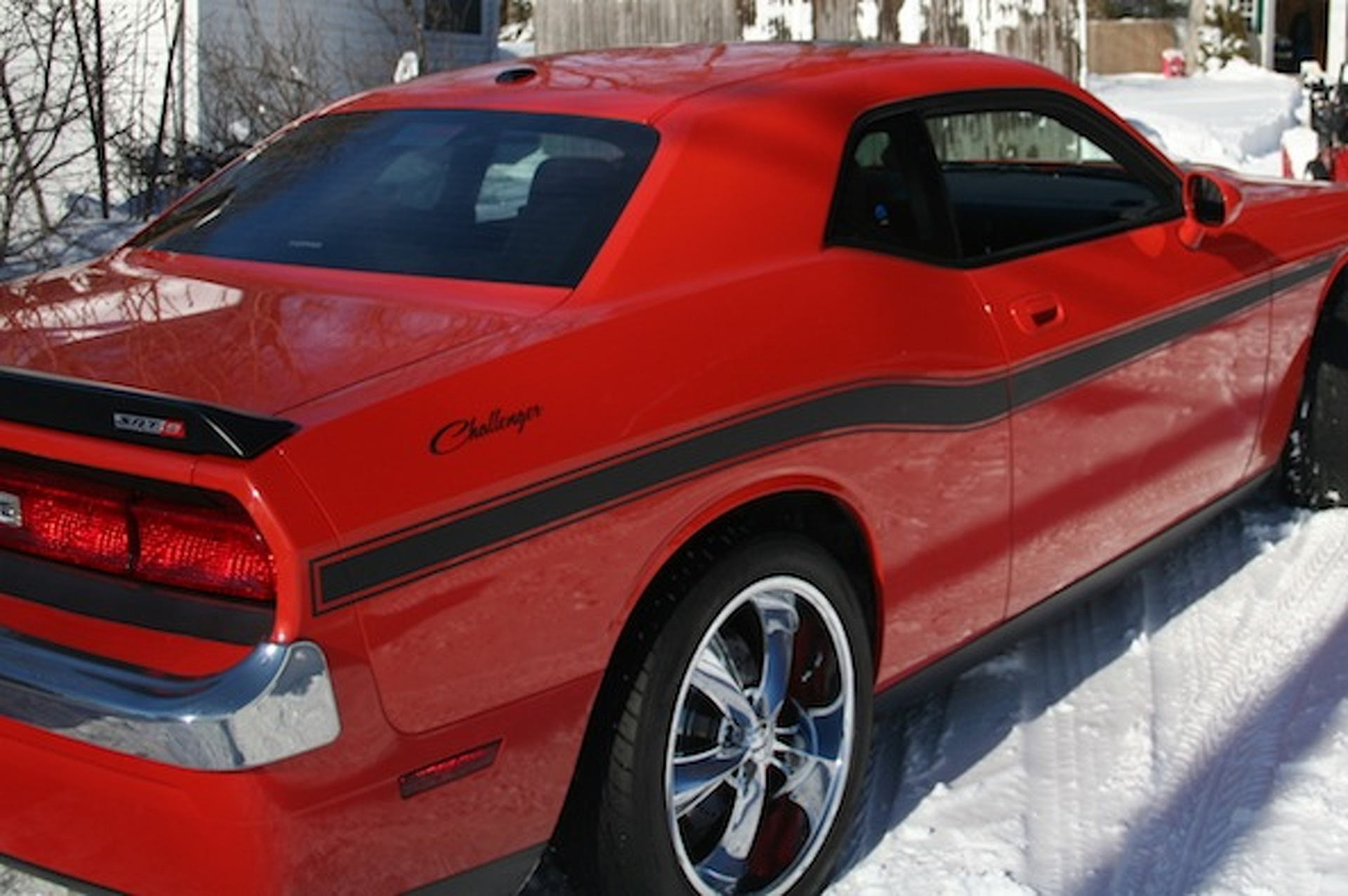 Your Ride: Dodge Challenger SRT8