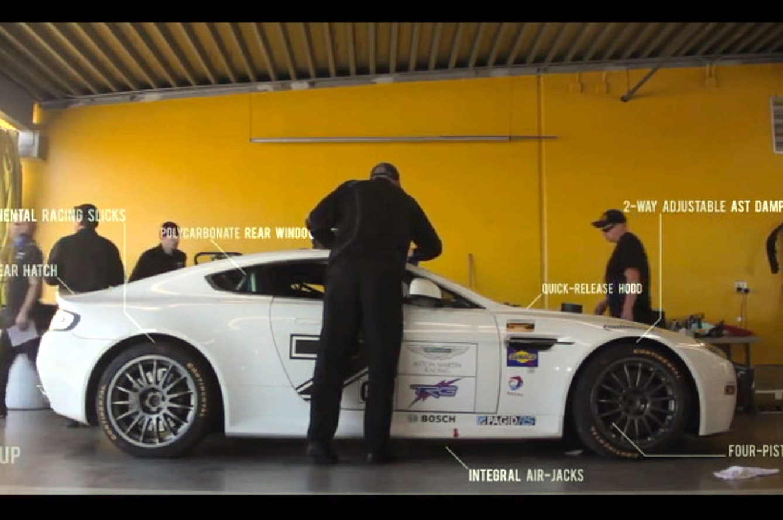 Video: Aston Martin Racing (AMR-TRG) Debuts Vantage GT4 at Daytona