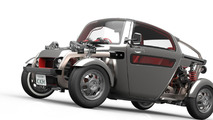 Toyota will show this peculiar KIKAI steampunk hot rod concept in Tokyo