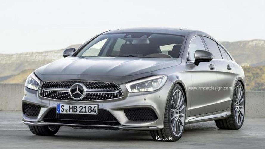 Third generation Mercedes-Benz CLS speculatively rendered