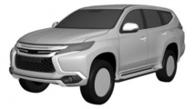 2016 Mitsubishi Pajero Sport revealed in new patent images
