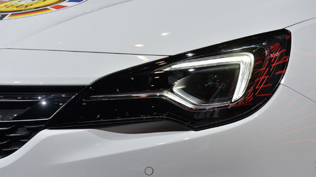 Opel Astra's LED headlights proving to be popular among buyers