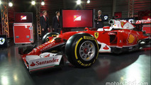 Ferrari presents its 2016 F1 car