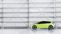 Toyota FT-CH dedicated hybrid concept