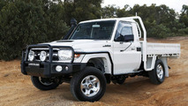 Toyota LandCruiser 70 Series with GXL cab-chassis