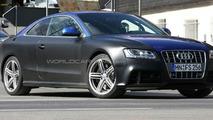 Audi RS5 first spy photos