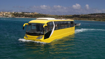 AmphiCoach world's first amphibious passenger coach vehicle