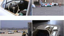 Panamera Commercial with Classic Porsches: Behind the Scenes [Video]
