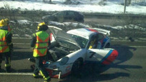 Porsche 997 Martini GT2 crashes in Finland, 540, 31.03.2011
