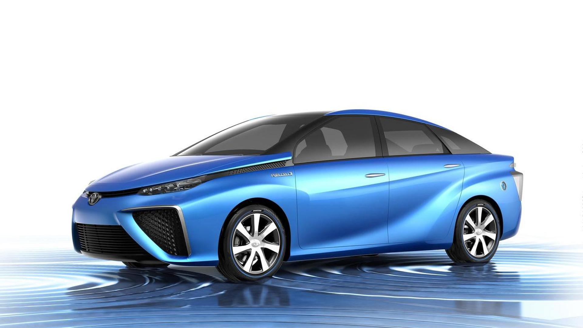 Toyota FCV concept revealed prior to Tokyo public debut