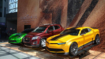 Chevrolet unveils Transformer 4's Autobots in New York