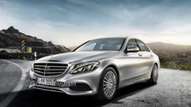 2014 Mercedes-Benz C-Class first exterior photos leaked