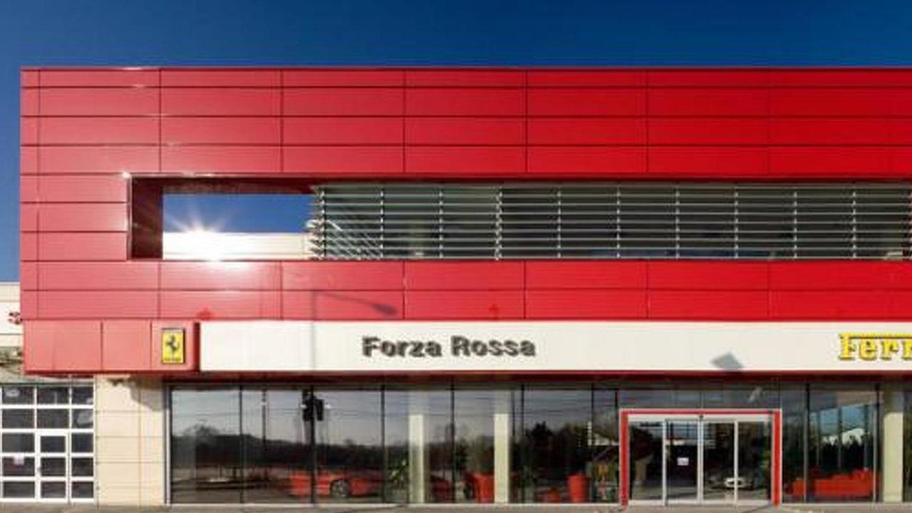 Forza Rossa Ferrari dealership in Bucharest, Romania / tikitaka.ro