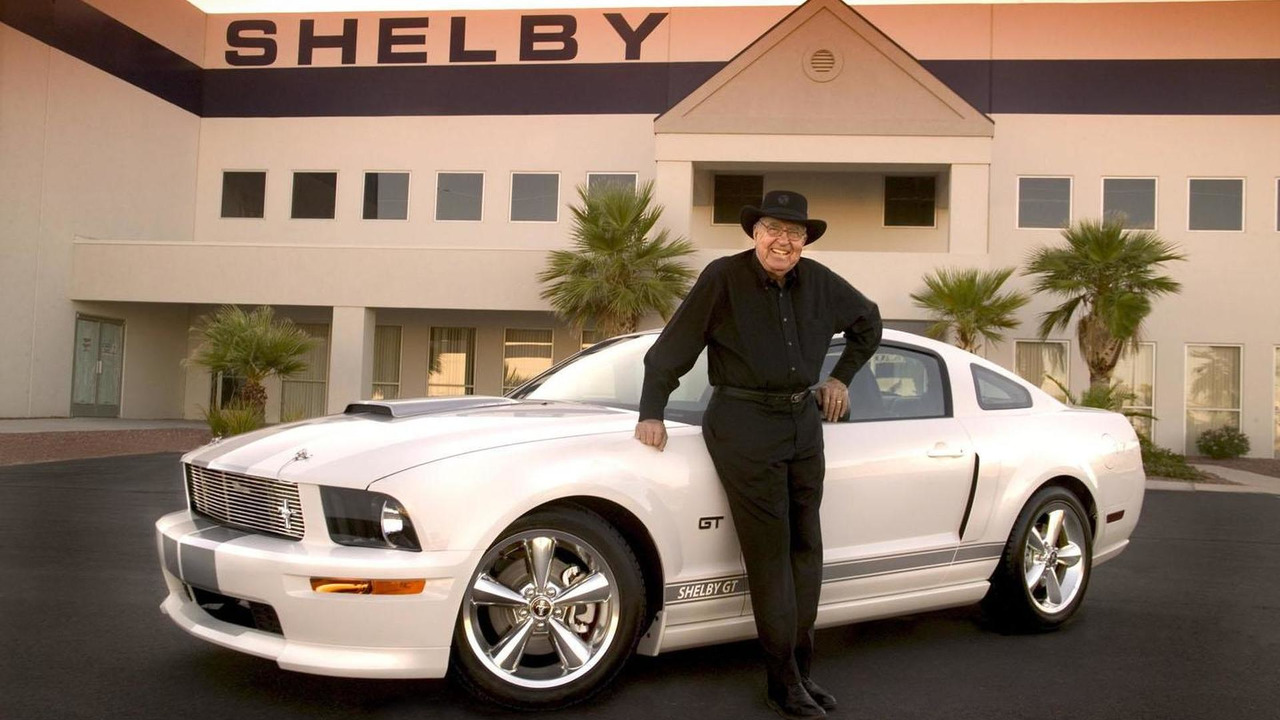 Carroll Shelby with 2007 Shelby GT Mustang
