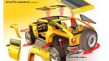 Leaked: Hummer HX Concept Details