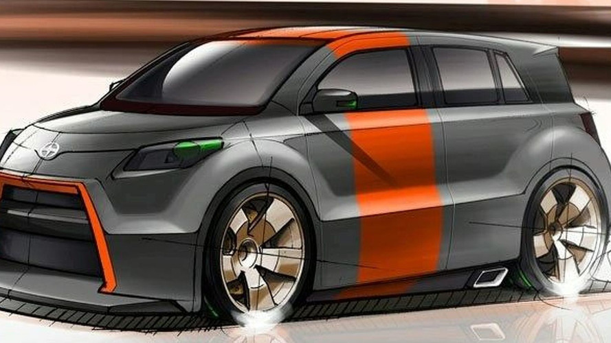Scion xD Widebody by Five Axis at SEMA