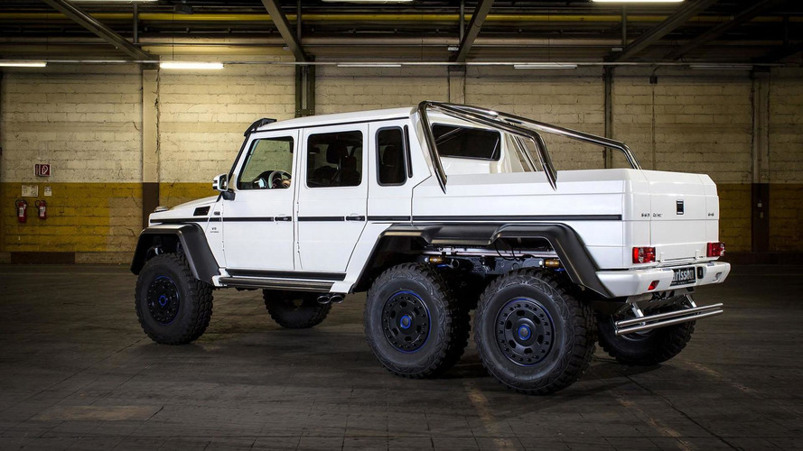 Carlsson tunes the Mercedes G63 AMG 6x6 to 650 PS