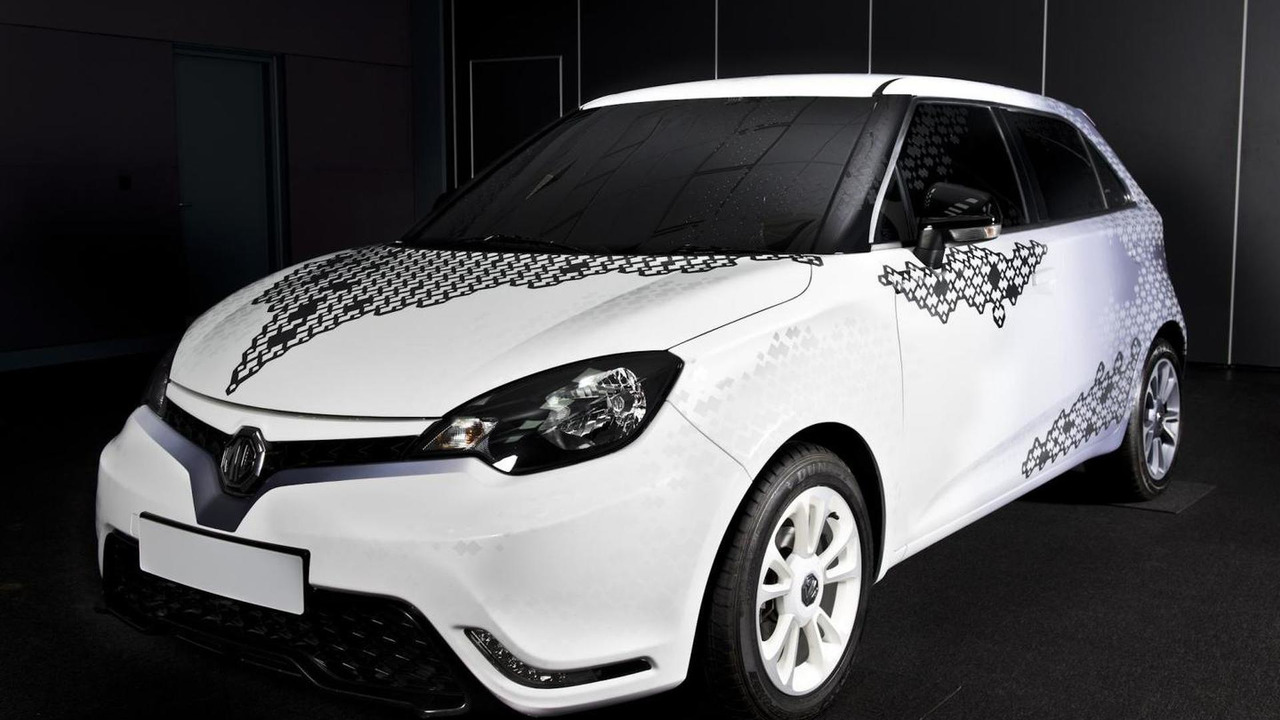 MG3 personalization concept