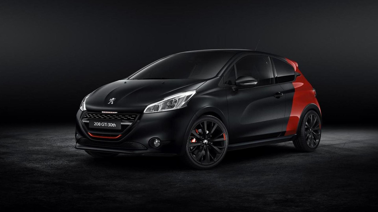 Peugeot 208 GTi 30th Anniversary special edition