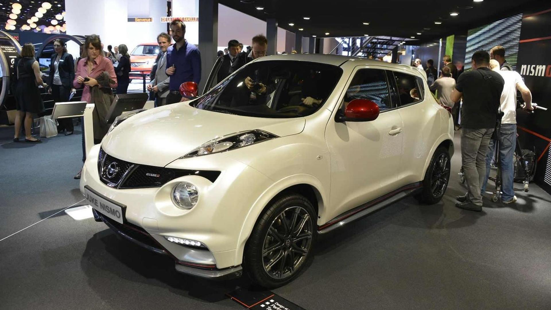 Nissan Juke Nismo debuts at Paris Motor Show