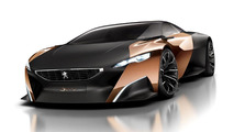 Peugeot Onyx concept leaked photo 11.9.2012