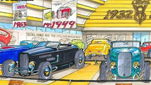 75th Anniversary of 1932 Ford