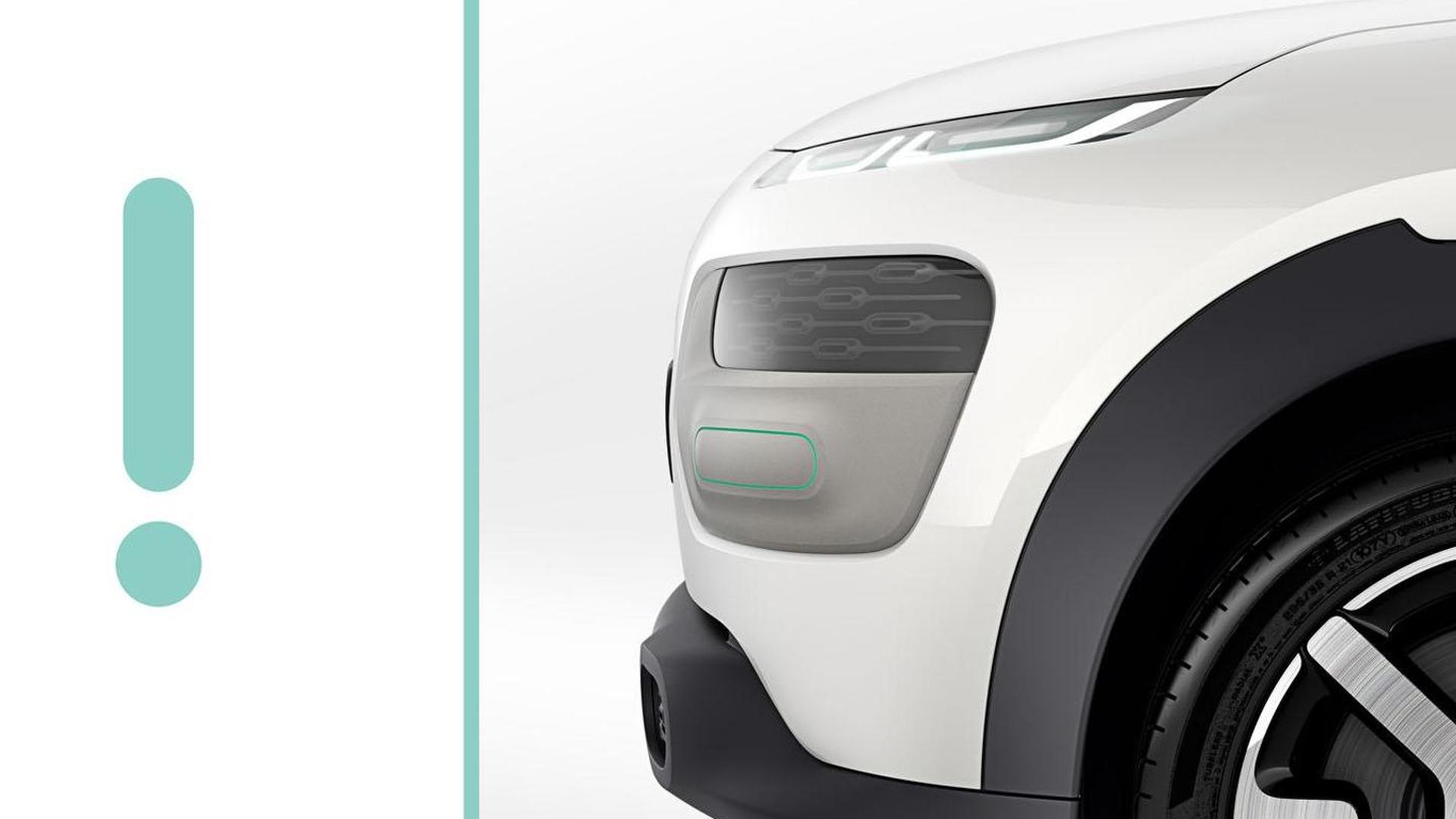 Citroen Cactus concept teased for Frankfurt [video]