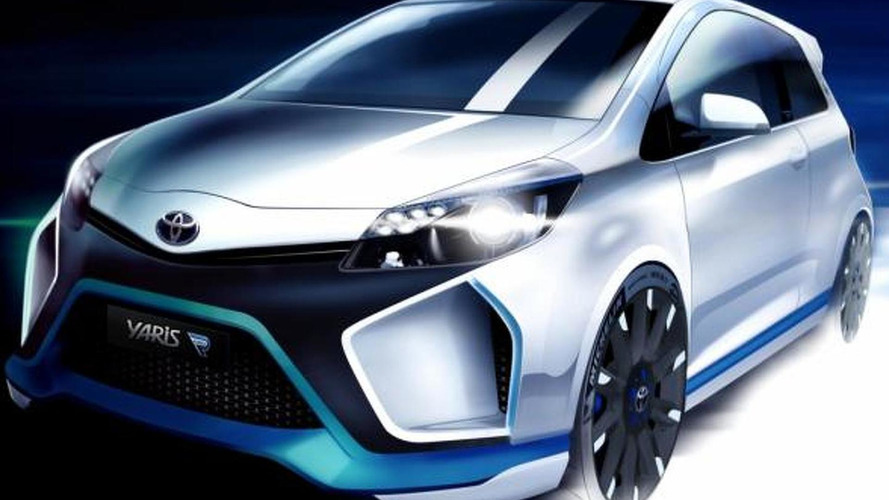 Toyota Yaris Hybrid-R Concept shown in first fully revealing photo