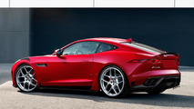 Jaguar F-Type Coupe RS speculative rendering 22.11.2013