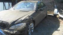 Mercedes S400 Hybrid crash 07.10.2013
