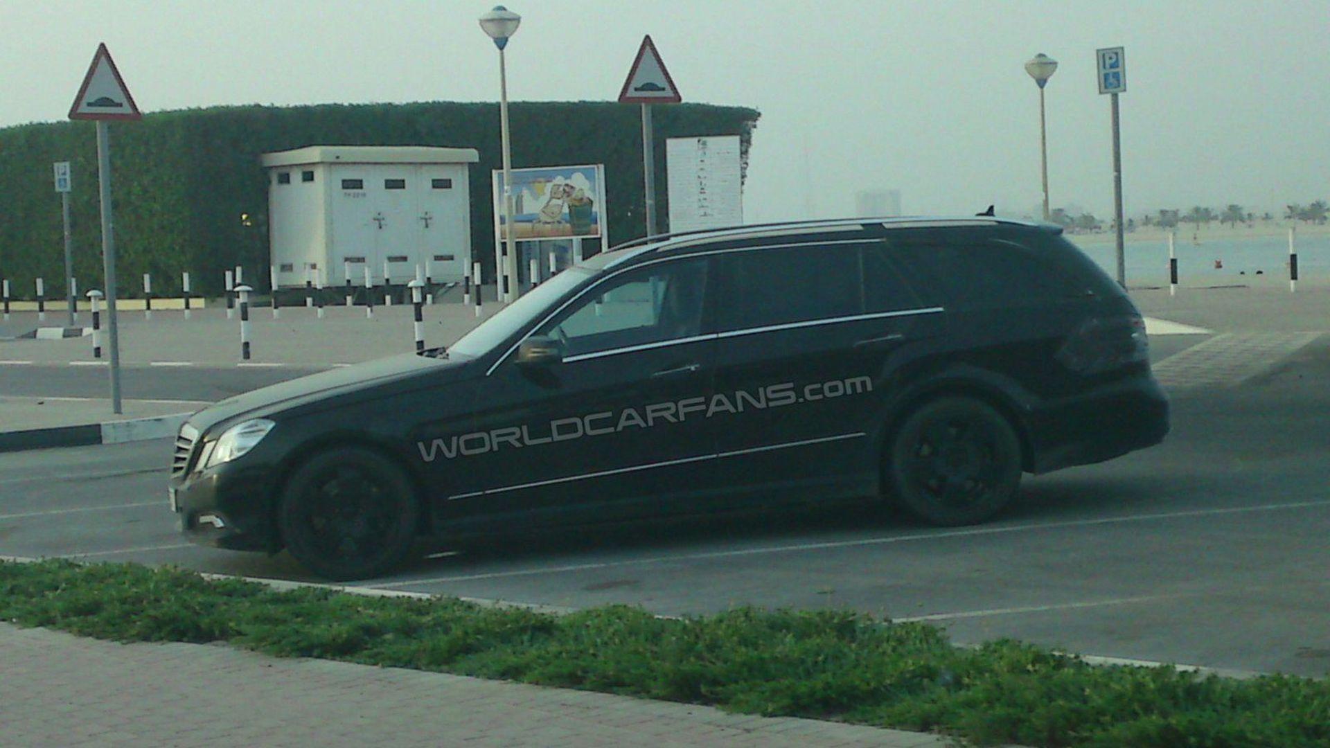 Mercedes E-Class wagon spied in Dubai by WCF reader