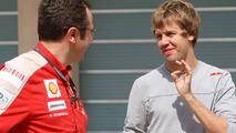 Vettel eyes Ferrari seat 'in a few years'