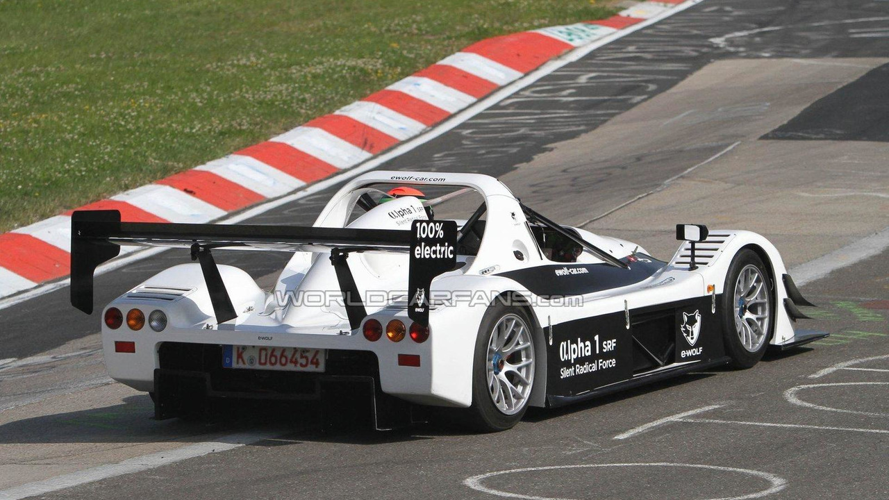 E-Wolf ALPHA 1 SRF on the Nürburgring Nordschleife, 04.07.2011