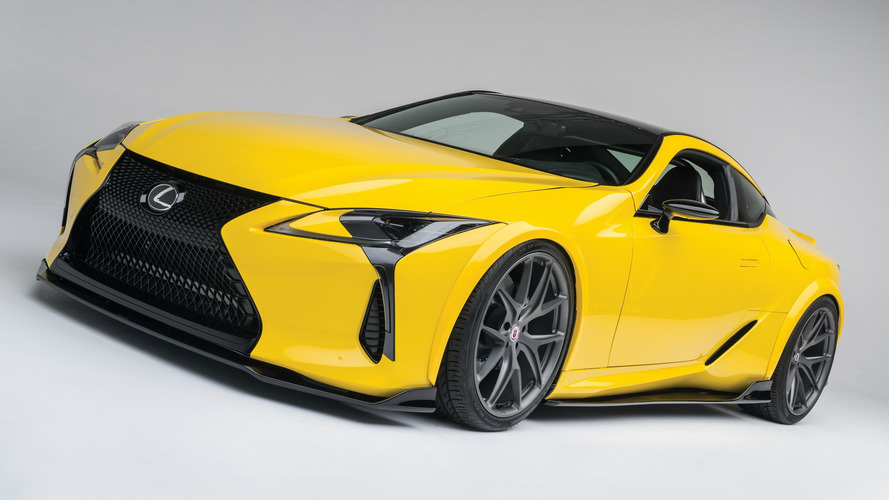 Modified Lexus LC 500 can handle over 900 hp
