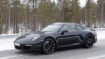 2019 Porsche 911 spy photo
